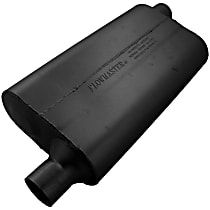 Flowmaster - 1965-2013 Black Muffler - May Require Minor Modification