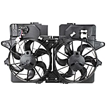 OE Replacement Radiator Fan Shroud Assembly - 3.0L Engine