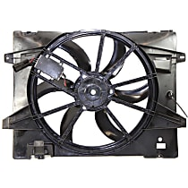 OE Replacement Radiator Fan - Includes Controller
