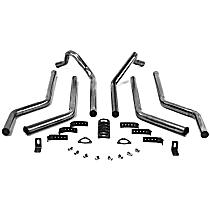 51525FLT Super Street Series - 1973-1987 Header-Back Exhaust System - Made of Aluminized Steel