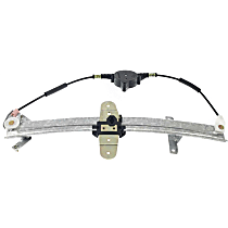 Rear, Passenger Side Power Window Regulator, Without Motor