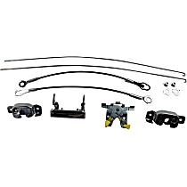 Tailgate Lock - Chrome, Direct Fit, Kit
