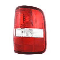 Passenger Side Tail Light, Without bulb(s) - 2004-2006 Ford F-150, Styleside, New Body Style, w/ Prod. Date Up to 8/8/2005, Exc. H-Dvidson Model, CAPA CERTIFIED