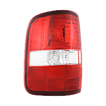 Driver Side Tail Light, Without bulb(s) - 2004-2006 Ford F-150, Styleside, New Body Style, w/ Prod. Date Up to 8/8/2005, Exc. H-Dvidson Model, CAPA CERTIFIED