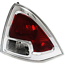 CAPA Certified Passenger Side Tail Light, Without bulb(s)