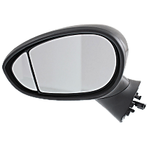 Mirror - Driver Side, With Blind Spot Corner Glass, Paintable
