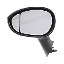 Mirror - Driver Side, With Blind Spot Corner Glass, Chrome