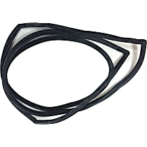 D4052 Windshield Molding - Black, Direct Fit, Sold individually