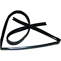 Door Seal - Glass Weatherstripping, Sold individually Driver or Passenger Side