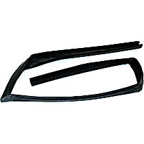 G1010 Weatherstrip Seal - Front, Passenger Side, Glass Weatherstripping, Direct Fit, Sold individually