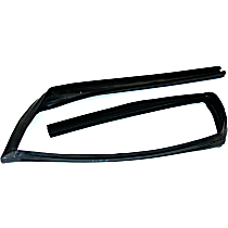Fairchild Industries Weatherstrip Seal - G1010 - Front, Passenger Side, Glass Weatherstripping, Direct Fit, Sold individually