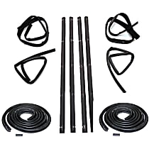 Weatherstrip Kit, Set of 10 Front and Rear, Driver and Passenger Side, Inner and Outer
