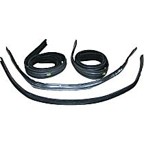 Weatherstrip Kit, Set of 4 Front, Driver or Passenger Side