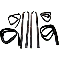 Weatherstrip Kit, Set of 8