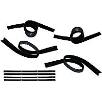KD1003A Weatherstrip Kit, Set of 8