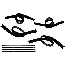 Weatherstrip Kit, Set of 8