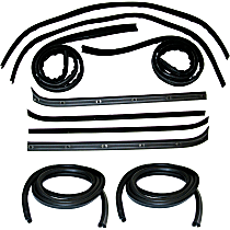 Weatherstrip Kit, Set of 10