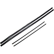 Weatherstrip Kit, Set of 4 Driver or Passenger Side