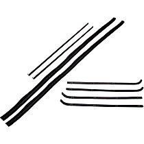 Weatherstrip Kit, Set of 2 Driver or Passenger Side