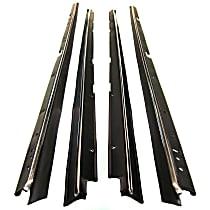Door Glass Weatherstrip - Set of 4