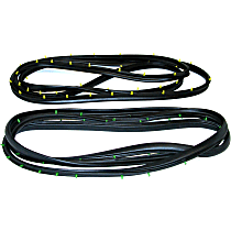 Door Seal Kit - Set of 2 Front, Driver and Passenger Side
