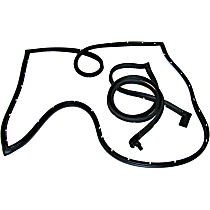Door Seal Kit - Set of 2 Rear Cargo, Driver and Passenger Side