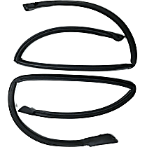 KG3136 Roof Rail Seal - Direct Fit, Set of 2