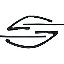 Weatherstrip Kit, Set of 4 Driver or Passenger Side