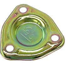 Febi 03640 Engine Side Cover Plate (Triangular Shape) - Replaces OE Number 130-015-00-05