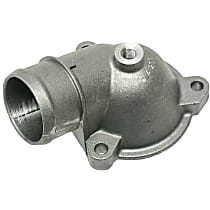 Febi 10492 Thermostat Housing Cover with Threaded Hole (Aluminum) - Replaces OE Number 103-203-07-74