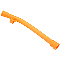 Oil Dipstick Tube Funnel (Orange Plastic Section) - Replaces OE Number 06A-103-663 B