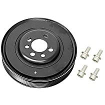 Febi 33608 Crankshaft Pulley (Vibration Damper) - Replaces OE Number 06A-105-243 E