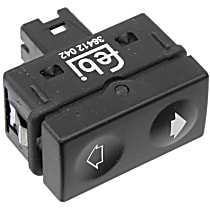 Febi 36412 Window Switch with Tip Function (Black Terminal Housing) - Replaces OE Number 61-31-1-387-387