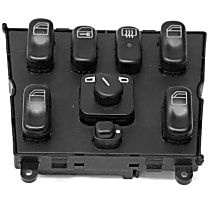 44735 Window Switch (Quadruple) with Mirror Adjustment - Replaces OE Number 163-820-66-10