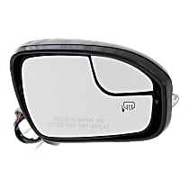 Mirror - Passenger Side, Power, Heated, Paintable, With Turn Signal, Memory, Blind Spot Glass and Puddle Lamp
