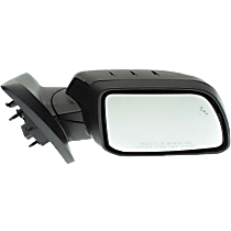 Mirror - Passenger Side, Power, Heated, Folding, Paintable, With Blind Spot Function, and Puddle Lamp