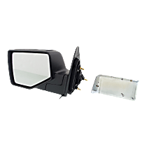 Mirror - Driver Side, With 1 Chrome and 1 Paintable Cap