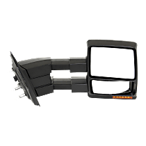 Mirror - Driver and Passenger Side (Pair), Power, Heated, Power Folding, Chrome, With Turn Signal, Memory, Puddle Lamp, Telescopic