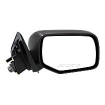 Mirror Manual Folding Non-Heated - Passenger Side, Textured Black