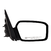 Mirror Non-folding Heated - Passenger Side, 2 Caps - Paintable & Textured Black