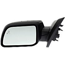 Mirror - Driver Side, Power, Heated, Folding, Paintable, With Turn Signal, With Blind Spot Function and Puddle Lamp