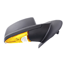 Mirror - Passenger Side, Power, Heated, Textured Black, With Turn Signal and Puddle Lamp