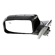 Mirror - Driver Side, Power, Paintable, With Memory and Puddle Lamp