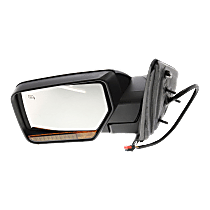 Mirror Power Folding Heated - Driver Side, In-housing Signal Light, Paintable