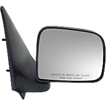 Mirror Manual Folding - Passenger Side, Manual Glass, Textured Black