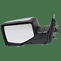 Mirror - Driver Side, Power, Chrome