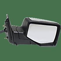 Mirror - Passenger Side, Power, Chrome