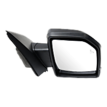Mirror - Passenger Side, Power, Heated, Power Folding, Textured Black, With Turn Signal, Memory, Blind Spot Function