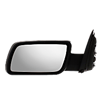 Mirror - Driver Side, Power, Heated, Chrome, With Memory and Puddle Lamp, Black Base