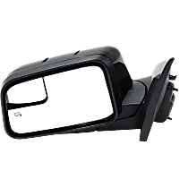 Mirror - Driver Side, Power, Heated, Paintable, With Memory, Blind Spot Glass and Puddle Lamp